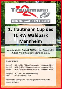 1. Trautmann Cup des TC RW Waldpark Mannheim